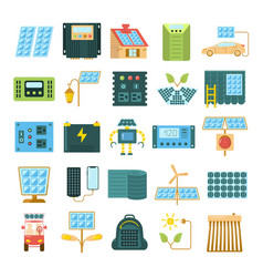 modern eco technologies vector image