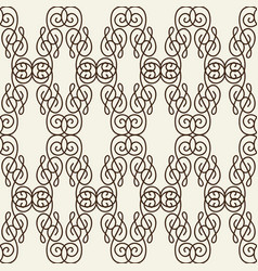 Rhomboid line seamless pattern vector