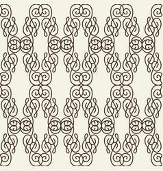 rhomboid line seamless pattern vector image