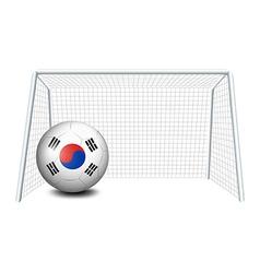 the flag south korea vector image