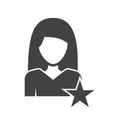 Woman Favorite vector image