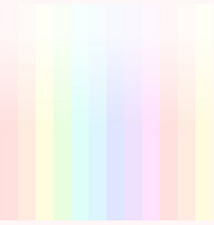 rainbow background in pastel colours vector image vector image