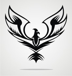 Eagle Bird Tribal vector image vector image