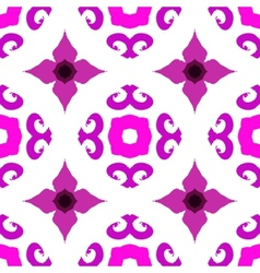 ethnic pattern with Indian motifs vector image vector image