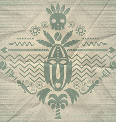 African Abstract Tribal vector image