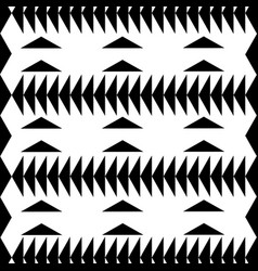 Black and white geometric background vector