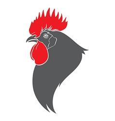 Cock head vector