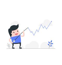 crisis management concept vector image