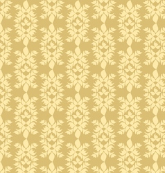 Decorative seamless Golden pattern vector