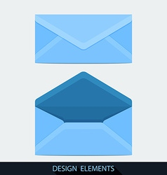Design of both open and closed envelope in flat vector