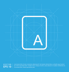 sample text icon vector image
