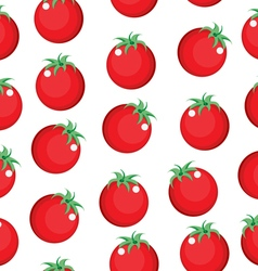 Tomato seamless pattern texture Tomato background vector