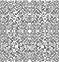 black and white stripe pattern swatches vector image vector image
