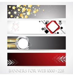 Banners for web collection10 vector image