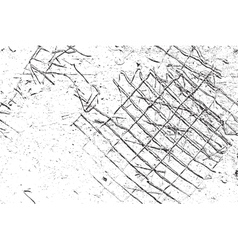 Damaged Grid vector image vector image