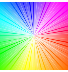 Colorful radial gradient background made of vector