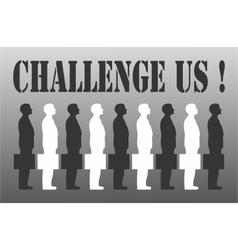 Business challenge vector image vector image
