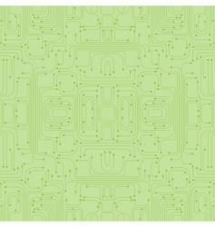 circuit board pattern vector image