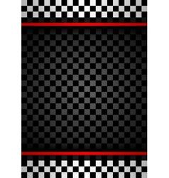 Racing vertical backdrop vector image vector image
