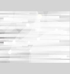 abstract horizontal pattern black and gray vector image