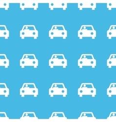 Car straight pattern vector