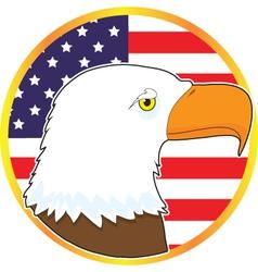 Eagle Medallion vector image