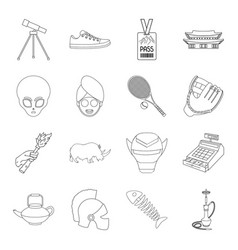 Finance history country and other web icon in vector