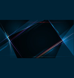 light ray stripe line with blue light speed vector image