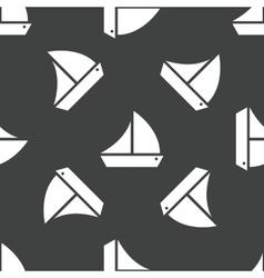 Sailing ship pattern vector image