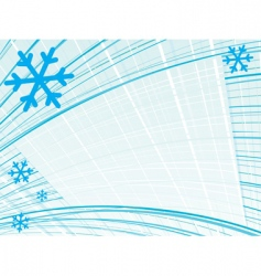 lined snow vector image vector image