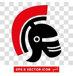 Rome Helmet Eps Icon vector image