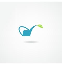 watering icon vector image vector image