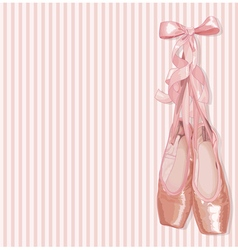 Ballet Slippers vector image