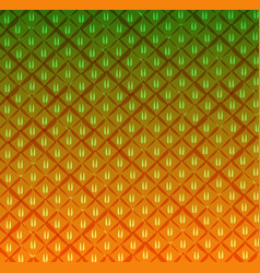 pineapple texture pattern vector image