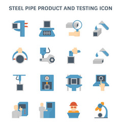 Pipe product icon vector