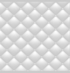 Quilted white background vector