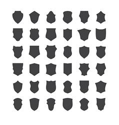 shields set four vector image