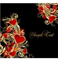elegance floral background vector image vector image