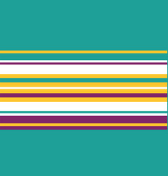 bright striped seamless border banner vector image