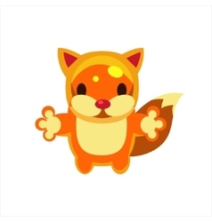 Fox Jelly Toy vector