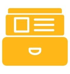 Index Box Icon vector