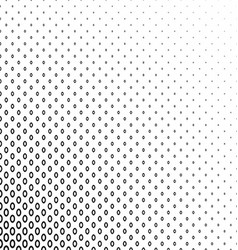 Monochrome geometric ellipse pattern background vector