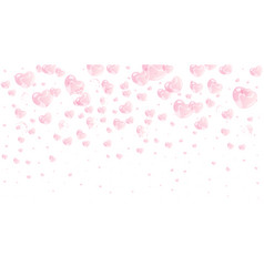 romantic valentine day background vector image