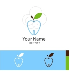 Sample logo for dental surgeries vector