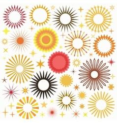 Sunny Set vector image
