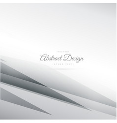 abstract gray background with geometrical lines vector image