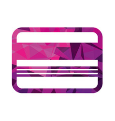 business card credit debit bank template vector image