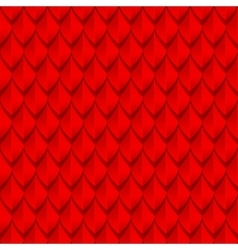 Red dragon scales seamless background texture vector