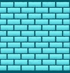 blue azure brick texture background vector image vector image