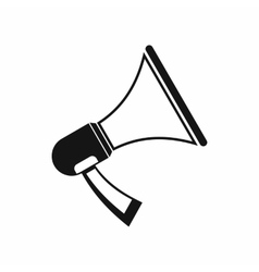 Megaphone icon in simple style vector image vector image
